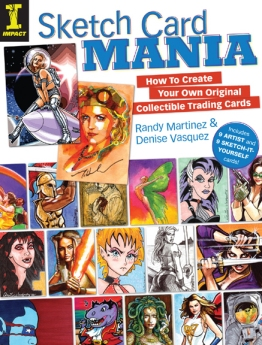 Book Cover for Sketch Card Mania