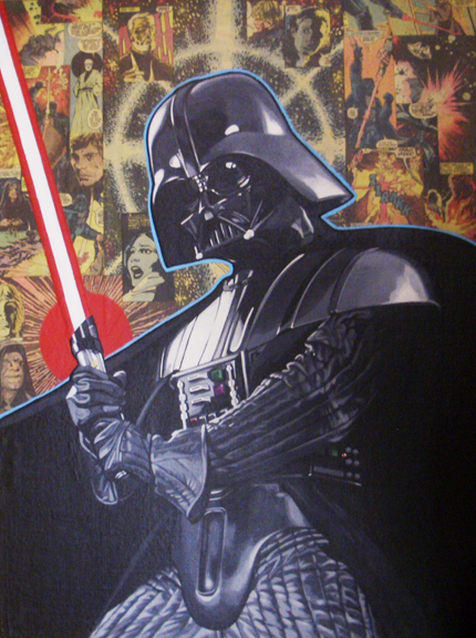 Darth Vader Comix Mixed media