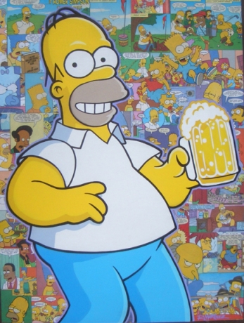Homer Simpson painting-72