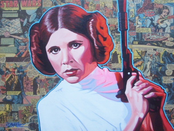 Princess Leia-E4-mixed media