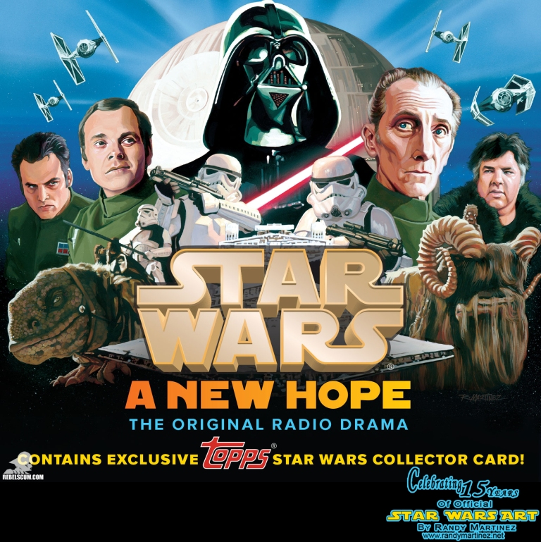 Star Wars: A New Hope Radio Drama Rerelease CD Cover/trading card