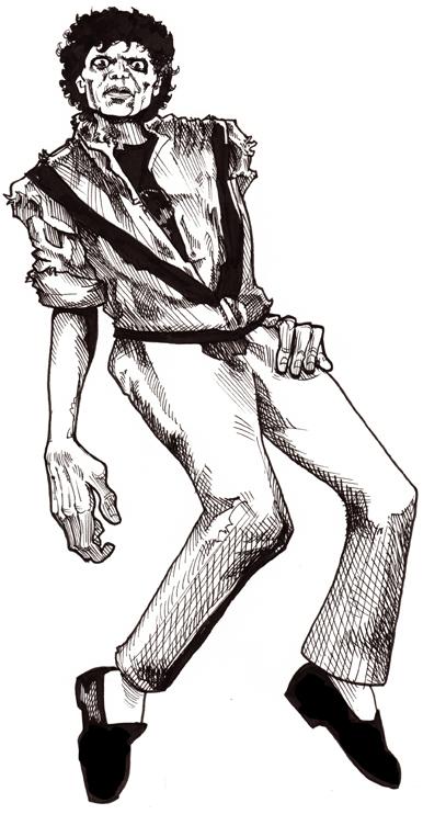 Michael Jackson-Thriller Sketch-72 | Randy Martinez- Artist