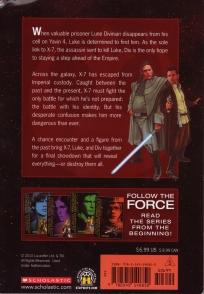 Star Wars Rebel Force: Book 5 Cover Illustration (Back)