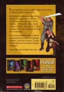 Star Wars Rebel Force: Book 6 Cover Illustration (Back)