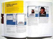 Sample Pages-designing a card back tutorial