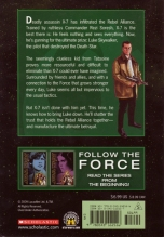 Star Wars Rebel Force: Book 3 Cover Illustration (Back), First appearance of X7
