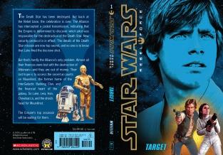 Star Wars Rebel Force: Book 1 Cover Illustration (Front and Back)