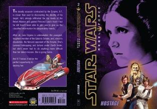 Star Wars Rebel Force: Book 2 Cover Illustration (Front and Back)