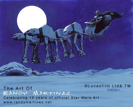 Art Focus: AT-AT Reindeer Sleigh | Randy Martinez- Artist