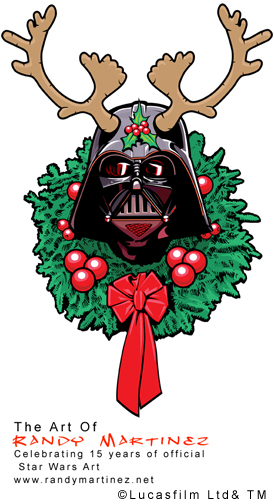 Official Star Wars Holiday Art ©LucasfilmLTD